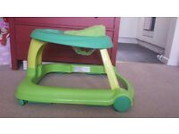 Chicco 3in1 baby walker - Green