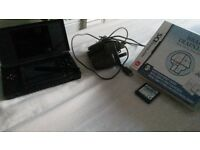 Nintendo DS Lite with brain training boxed