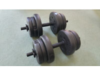 EverLast Vinyl Dumbbell Set - 20kg