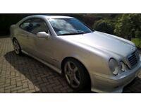 Mercedes CLK55 AMG (not BMW, Audi)