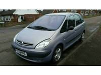 Citroen xsara piccaso automatic full service history with timing belt water pump done long mot