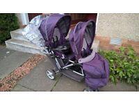 graco stadium duo double stroller