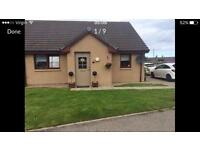 2 bed coastal bungalow for 3 bed anywhere