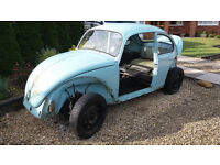 1971 Volkswagen Beetle. Restoration Project