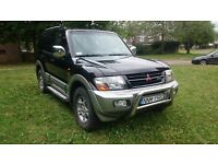MITSUBISHI SHOGUN / PAJERO 2003 3.2 DID AUTO LWB 7SEATS LEFT HAND DRIVE LOW MILEAGE