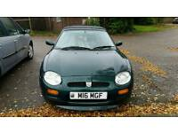 MG MGF 1.8l sport with personalised plate