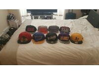 Used snapback hats