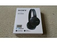 Sony Bluetooth Headphones (MDR-ZX220BT)