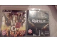 Black ops 1 / army of 2 40th day ps3 game