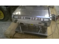 marisa 2 group coffee machine never used since last service perfect working order£1395.