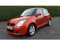 VERY CLEAN,LATE 2007 SUZUKI SWIFT 5 DOOR,1490CC,foucus,leon,golf,mini,punto,320d,m3,x3,x5,tt,mx5,ka,