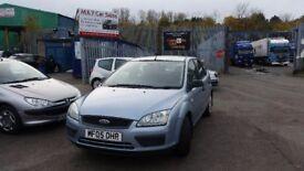 2005 (05 reg) Ford Focus 1.4 LX 5dr Hatchback FOR £1,395 SOLD WITH 12 MONTHS MOT