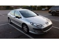 Peugeot 407 1.5 diesel tax and mot 09.2018 drives well