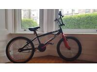 Boy's 20 inch x-Rated BMX with Stunt Peg Add Ons