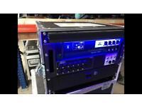 Soundcraft ui16 sound desk rack