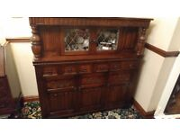 Old Charm Style court Cupboard