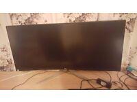 "LG 34"" Ultrawide 3440x1440 Curved Monitor"