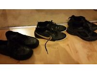 Boys Clarkes shoes Nike and Everlast trainers