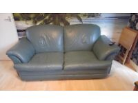 Leather sofa bed plus extras
