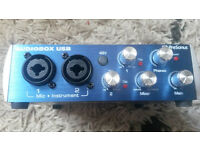 PreSonus AudioBox USB 2x2 USB 2.0 Recording System (interface)