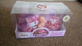 Very rare Bagpuss Plastic Tumblers in Box - Christmas Present?