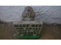 rabbit garden ornamet. near coppins road clacton, ( collecton only ) look good in your garden lol