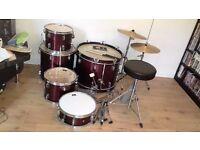 CB Drmus Drum kit Dark red