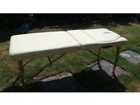 Massage Table and Bolster