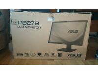 "ASUS PB278QR Professional 27"" 16:9 2560 x 1440 WQHD LED-backlit Monitor"