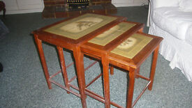 Nest of 3 Occaisional Tables