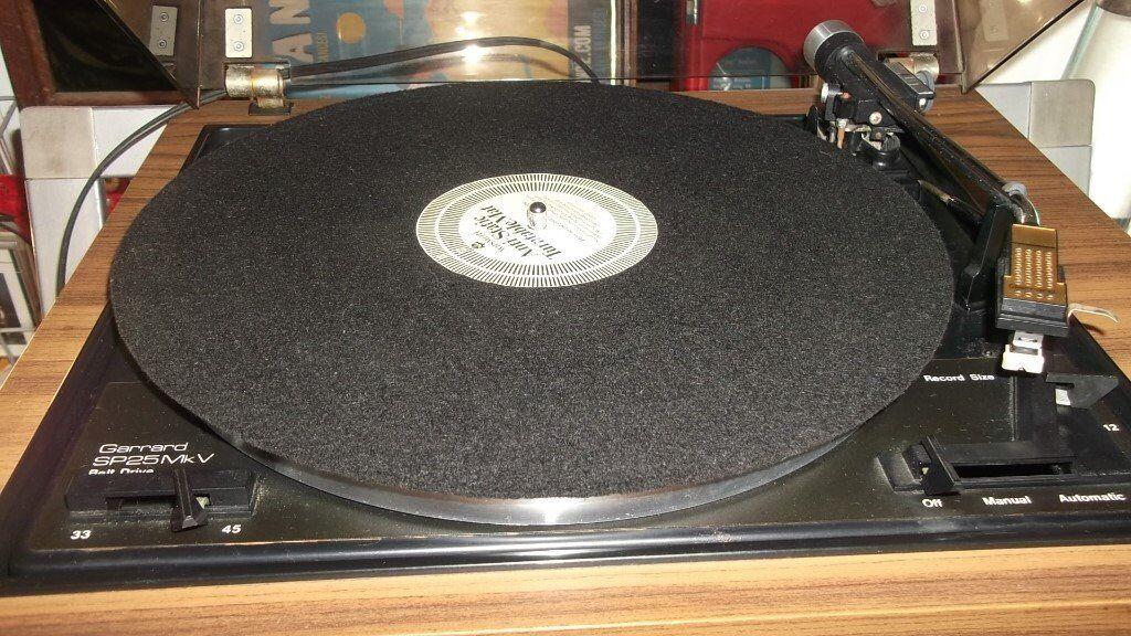 Vintage Garrard Sp25 Mk5 Vinyl Record Turntable Record