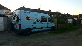 Vauxhall movano 4 birth campervan