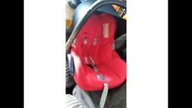 Maxi cosi infant car seat baby