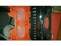 """Bahco S160 1/4"""" drive socket tool set kit"""