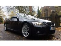 2008 BMW 330D M SPORT CONVERTIBLE AUTO 66600 MILES FULL SERVICE HISTORY SAT NAV
