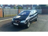 2004 vauxhall zafira 2.0 dti club 7 seater in great condition