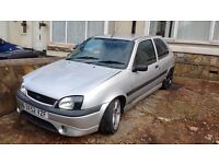 FORD FIESTA 1.6 ZETEC S SLIVER 2002 BREAKING FOR PARTS