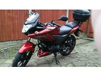 Honda cbf 125 in fantastic condition and we'll look after all paper work and Honda booklet