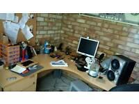 Office desk & filing draw