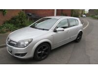Silver vauxhall astra sri, 5 door with sport feature