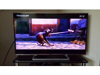 Panasonic 48inch smart led 1080 with wifi built in. Freeview. usb hdmi ports.