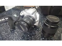 Canon EOS 400D with Zoom Lens and Lowre Pro Bag