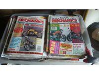 Classic motorcycle mechanics magazines