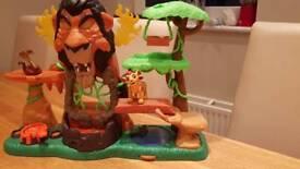 "Lion king ""Rise of Scar"" Toyset"