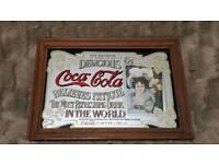 Coca Cola pub mirror