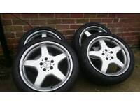 18 inch 5x112 alloys vw audi Mercedes