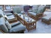 Conservatory 8 piece furniture set