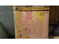 12x12 scrapbooking paper and embelishment kit
