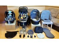 Quinny Buzz 3 Pushchair Pram Stroller Travel System With Maxi Cosi Car Seat - Bargain