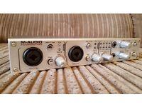 M-Audio FireWire 410 audio & MIDI interface (1 of 2)